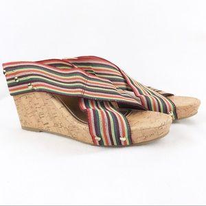 Madden Girl | Women's Nautic Cork Wedge Sandal 9.5